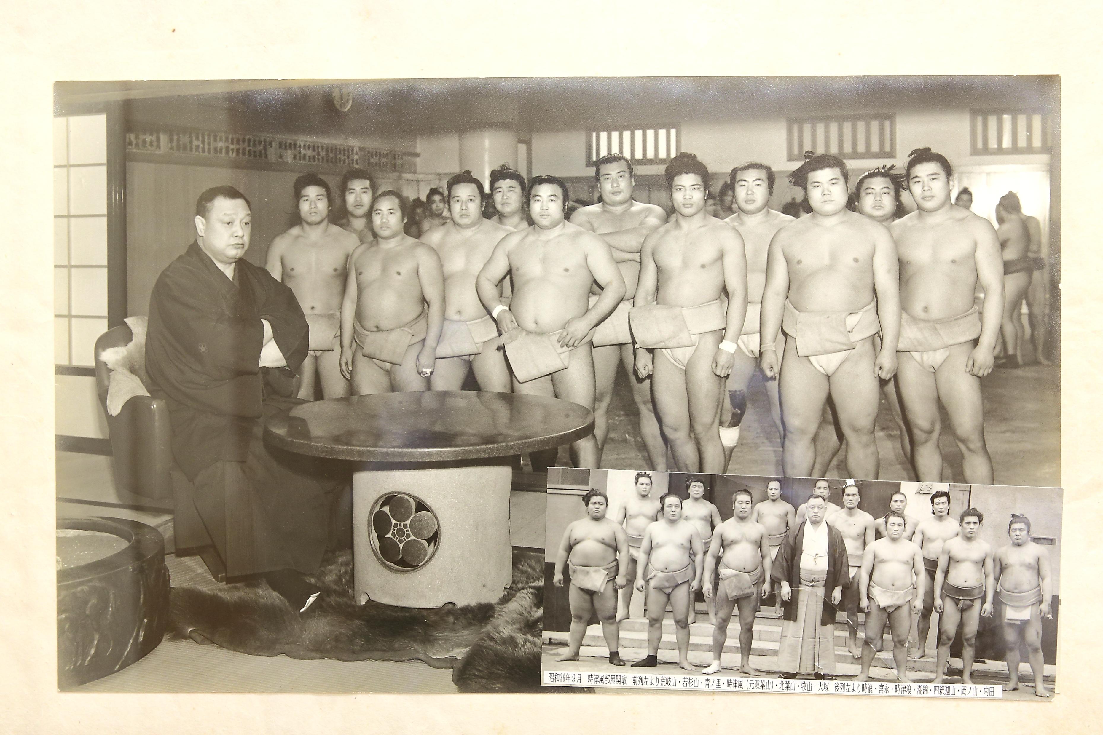 昭和36年当時の時津風部屋