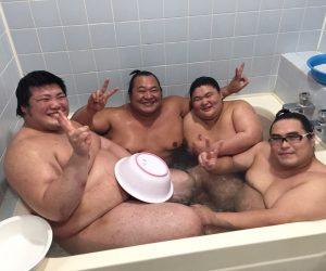 みんなでお風呂